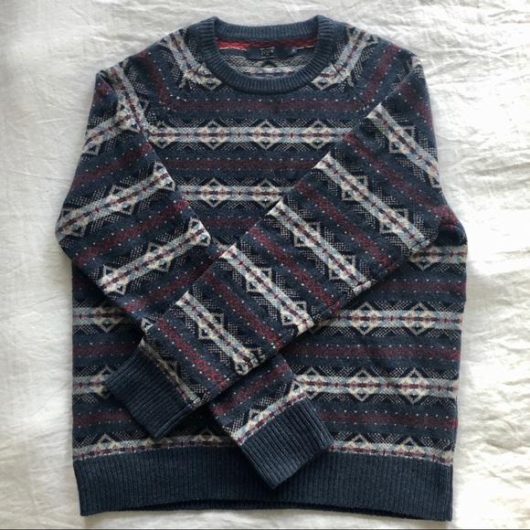 J. Crew Other - J. Crew Men's 100% Lambswool crew neck sweater
